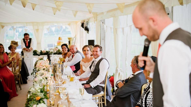 Marquee Wedding at Lytham Cricket Club