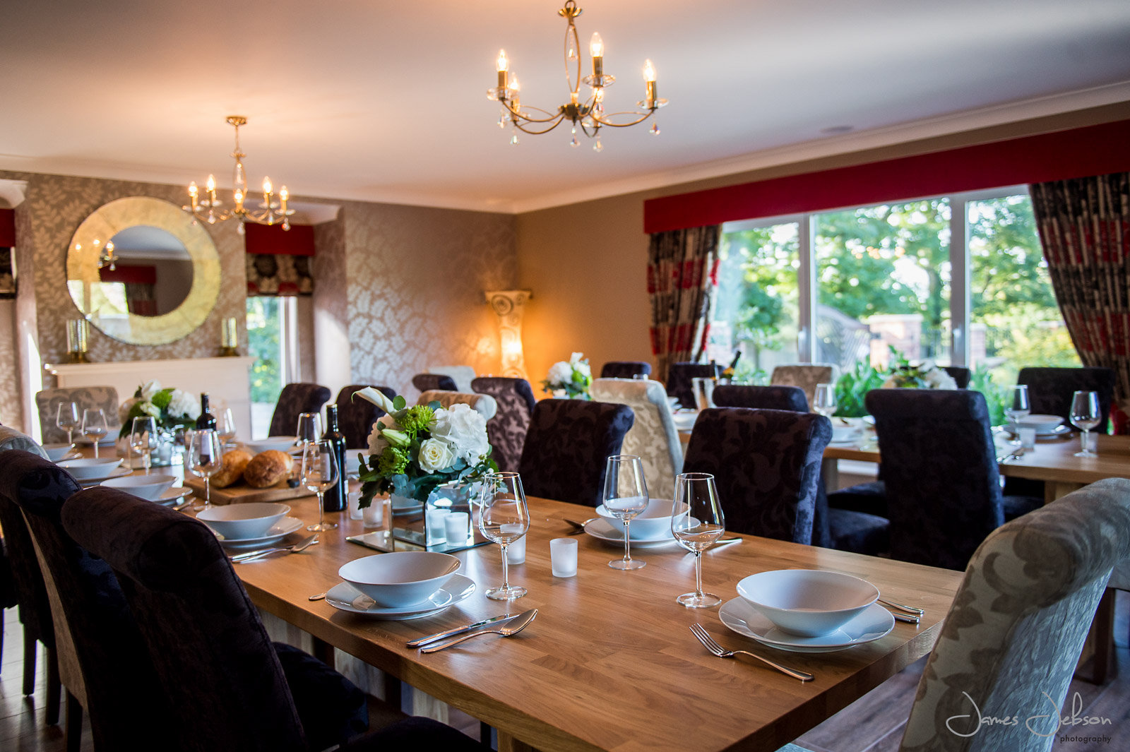 Family dinner at the new Langton's Venue