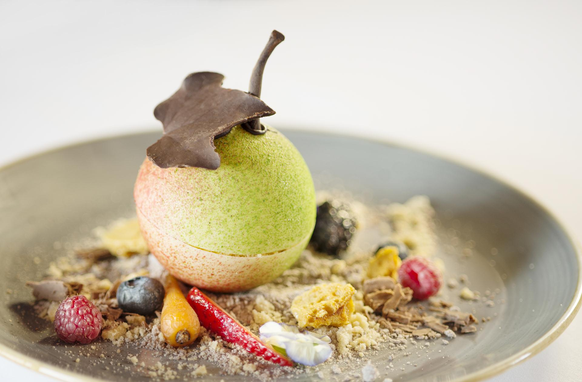 apple crumble creative dessert