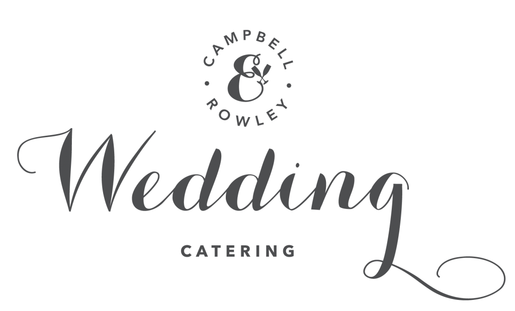 Campbell & Rowley wedding catering logo
