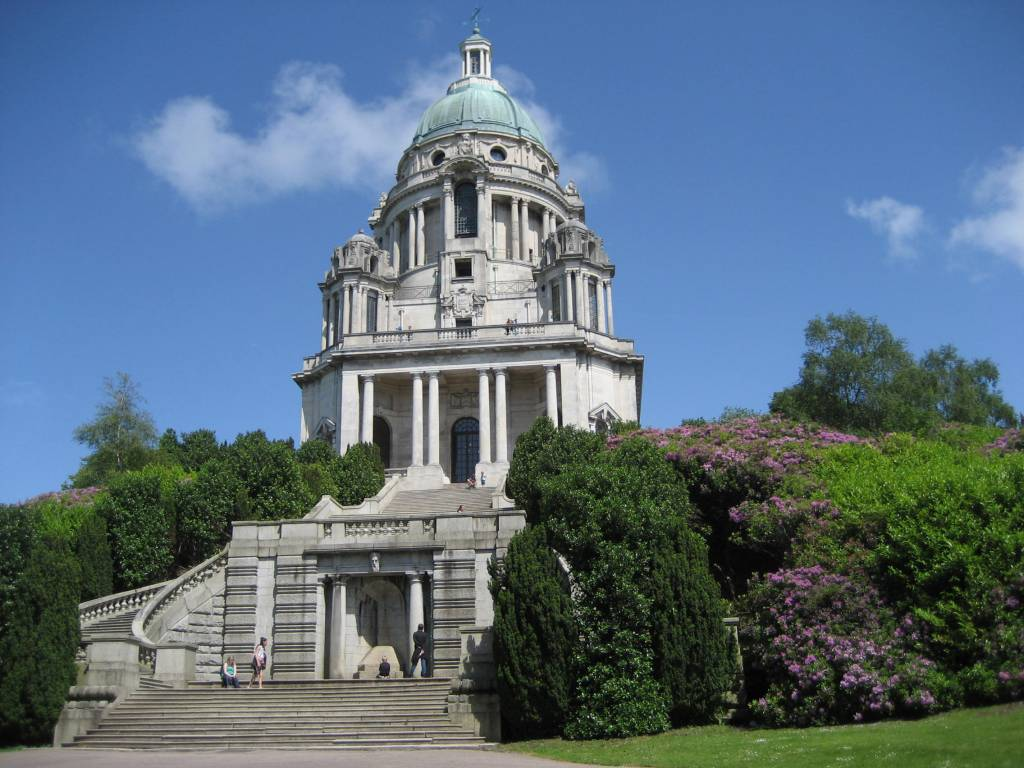 Ashton Memorial in Williamson Park Lancaster