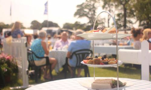 Afternoon Tea at Cartmell Racecourse