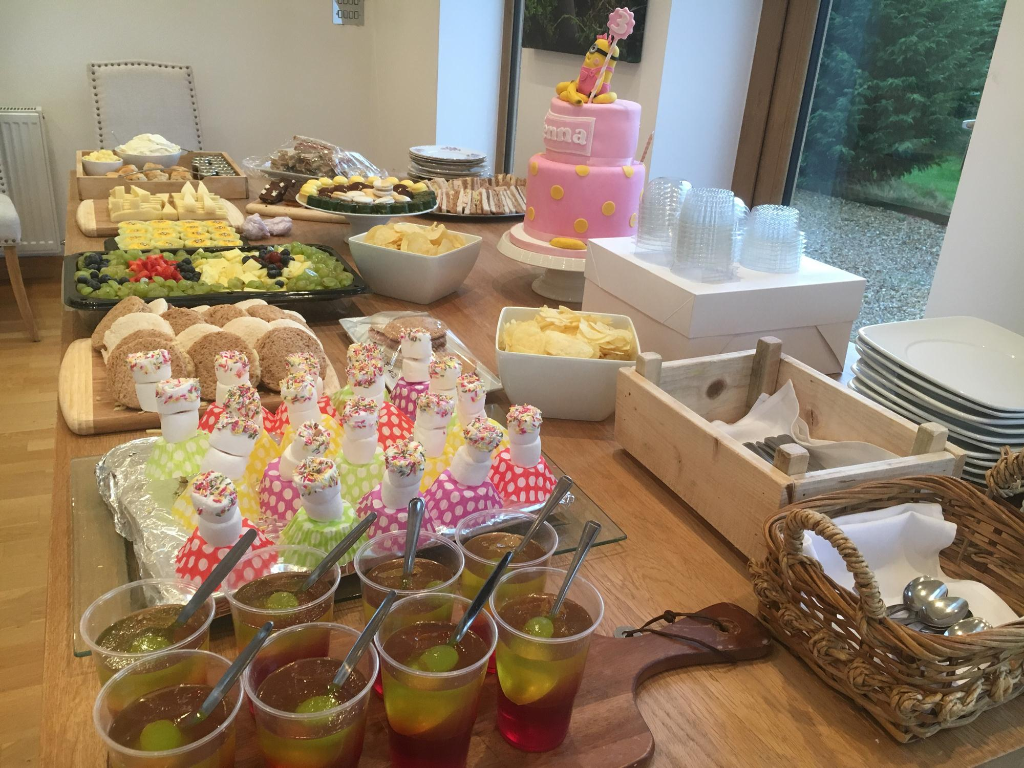 3rd birthday party occasion catering