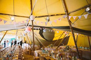 Rob & Chantal's Teepee Wedding