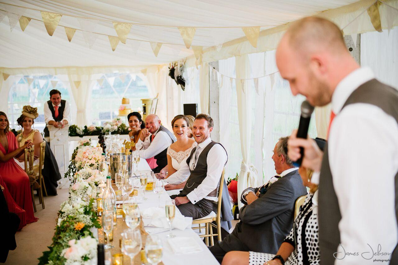 best mans speech to wedding guests