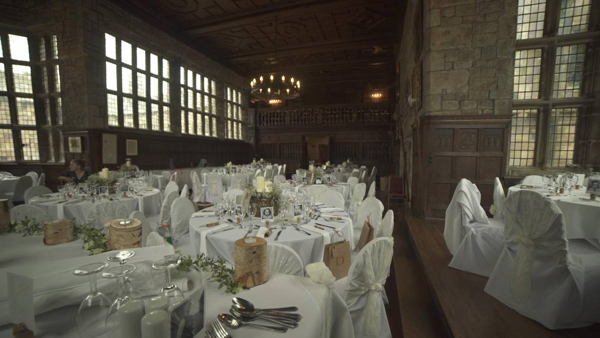 Hoghton Tower Wedding Catering