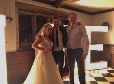 Mr & Mrs Valentine – Hoghton Tower Wedding