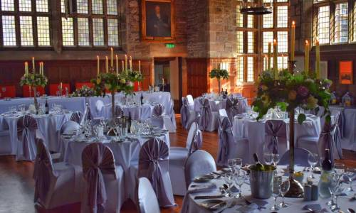Hoghton Tower Banquetting Hall