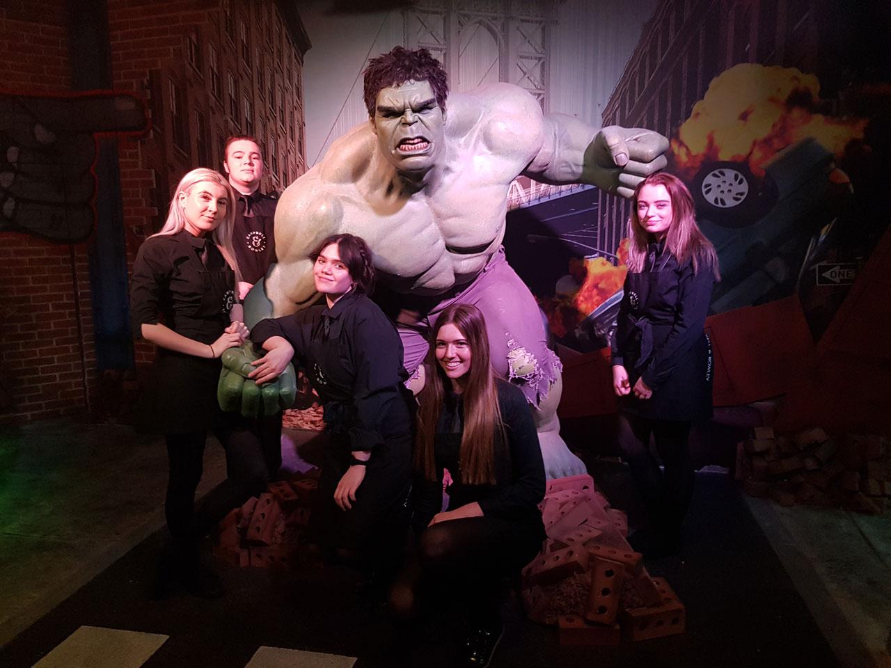 Marvel Launch @ Madame Tussaud's