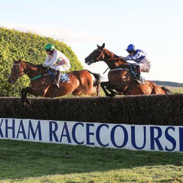 Campbell Rowley at Hexham Racecourse